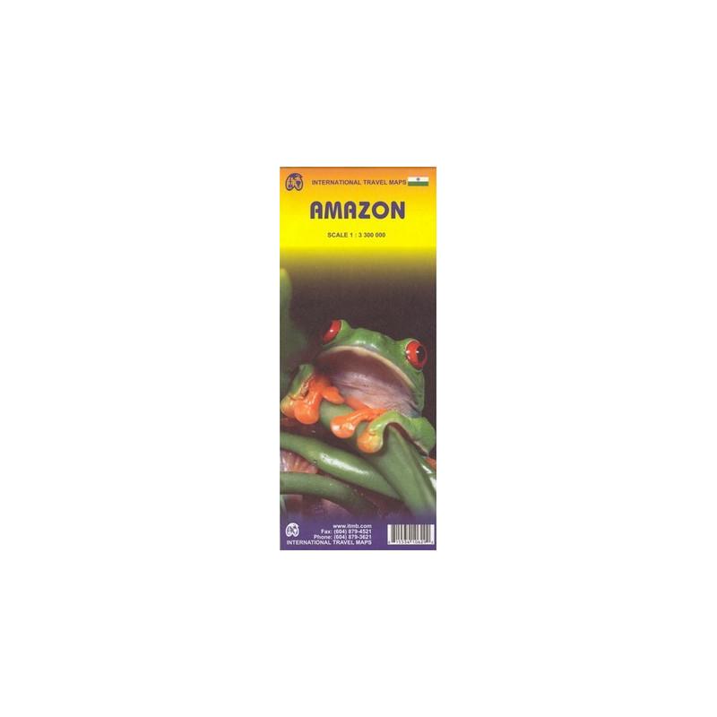 Achat Carte routière - Amazone - ITM