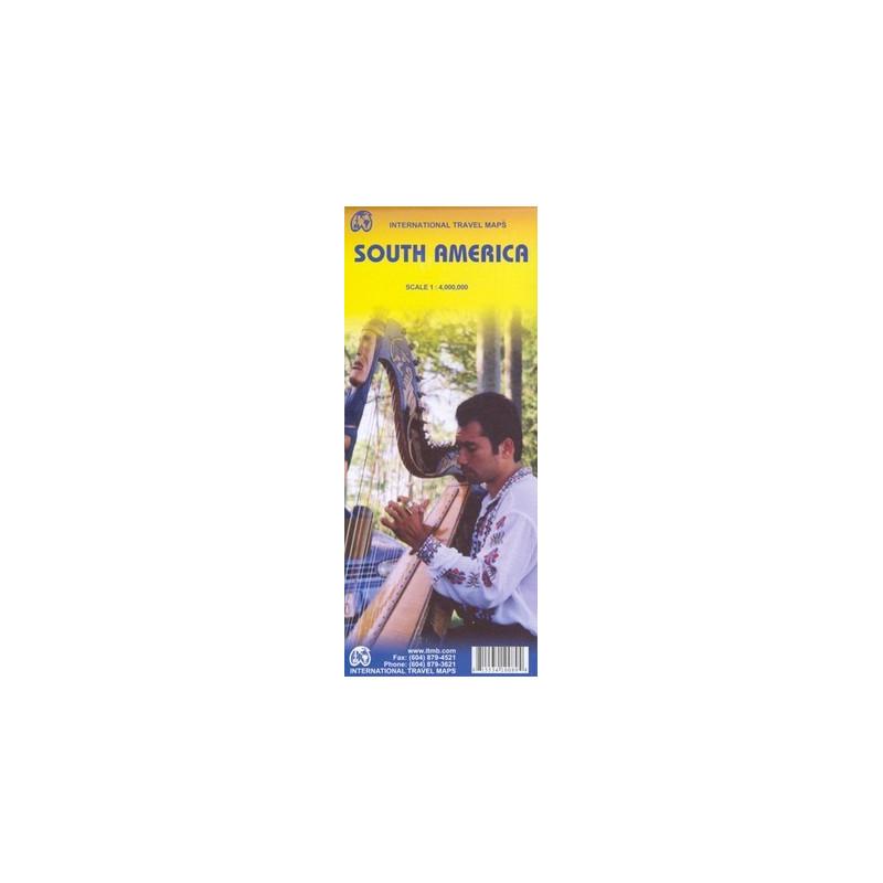Achat Carte routière - Amérique du sud - ITM