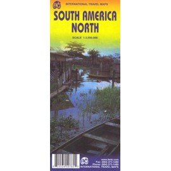 Achat Carte routière - Amérique du sud (Nord ) - ITM