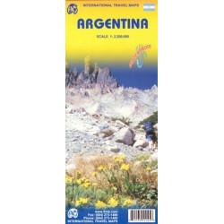 Achat Carte routière - Argentine - ITM