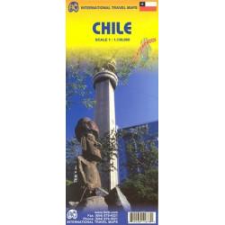 Achat Carte routière - Chili  - ITM