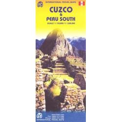 Achat Carte routière - Cuzco, Pérou sud - ITM