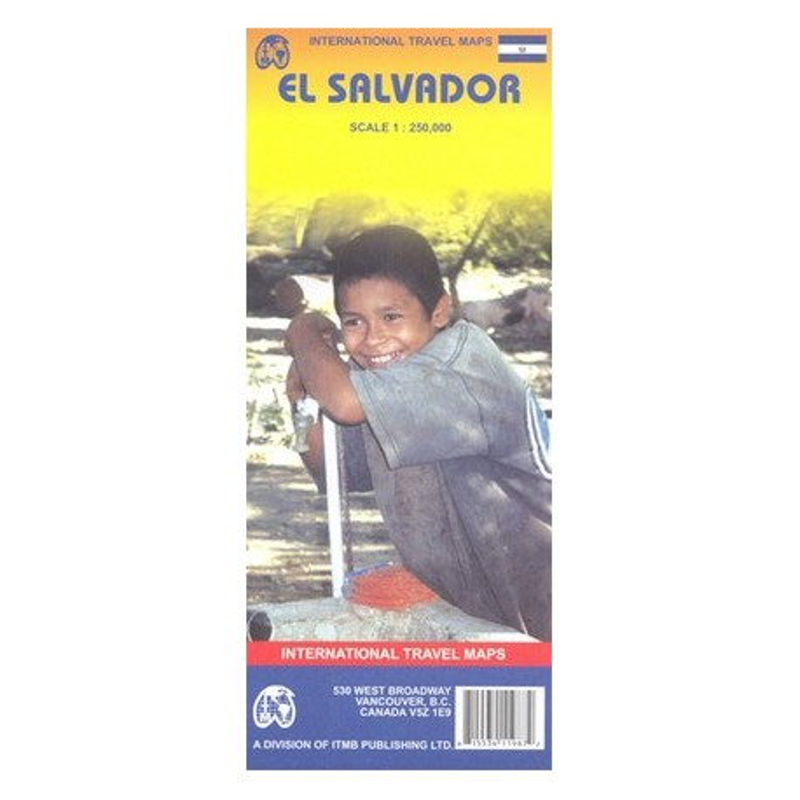 Achat Carte routière - El Salvador - ITM