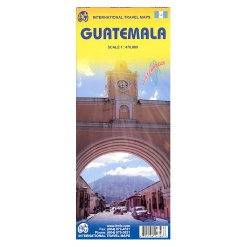Achat Carte routière - Guatemala - ITM