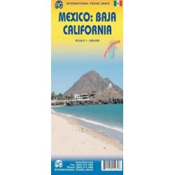 Achat Carte routière - Mexique /  basse Californie - ITM
