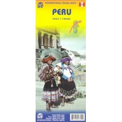 Achat Carte routière - Pérou / Peru - ITM