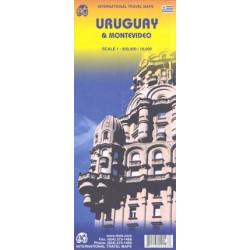Achat Carte routière - Uruguay / Montevideo - ITM