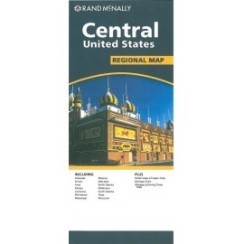 Achat Carte routière - Central United States - Rand Mac Nally