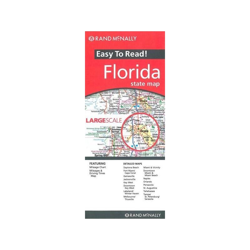Achat Carte routière - Floride - Rand Mac Nally