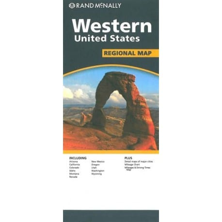 Achat Carte routière - Western United States - Rand Mac Nally