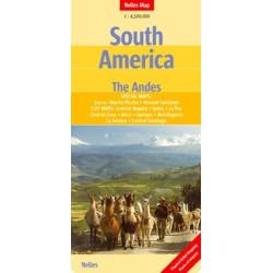 Achat Carte routière - Amérique du sud, les Andes - Nelles