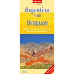 Achat Carte routière - Argentine Nord, Uruguay - Nelles