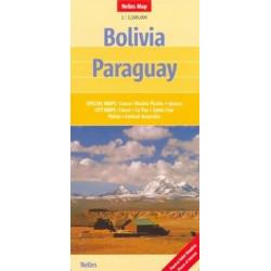 Achat Carte routière - Bolivie, Paraguay - Nelles