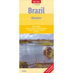 Achat Carte routière - Brésil, Amazonie - Nelles