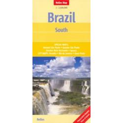 Achat Carte routière - Brésil Sud - Nelles