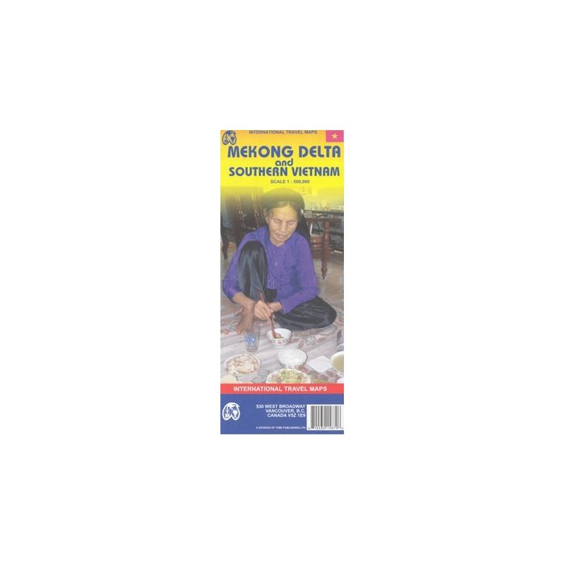 Achat Carte routière - Delta du Mekong / Vietnam sud - ITM
