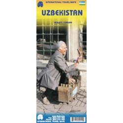 Achat Carte routière - Ouzbekistan - ITM