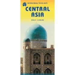 Achat Carte routière - Asie Centrale - ITM