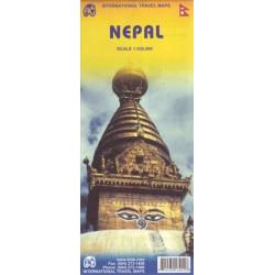 Achat Carte routière - Népal - ITM