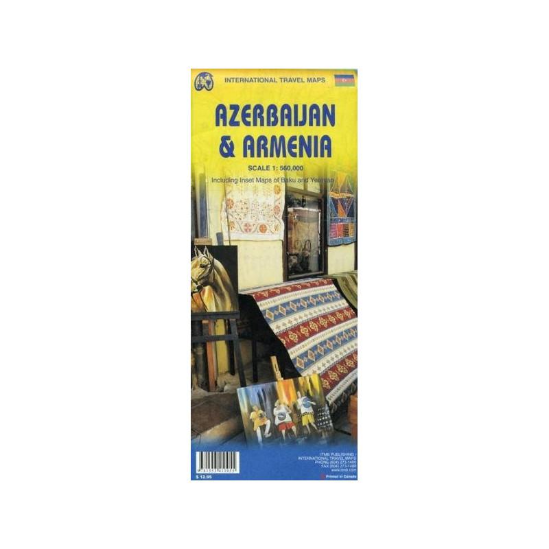 Achat Carte routière - Arménie & Azerbaijan - ITM