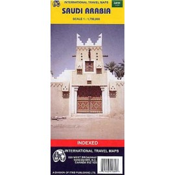 Achat Carte routière - Arabie saoudite - ITM