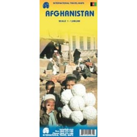Achat Carte routière - Afghanistan - ITM