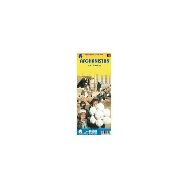 Achat Carte routière - Afghanistan - ITM