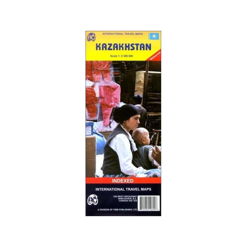 Achat Carte routière Kazakhstan - ITM