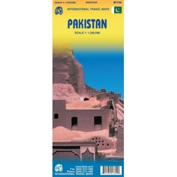 Achat Carte routière - Pakistan - ITM