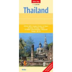 Achat Carte routière - Thailande - Nelles