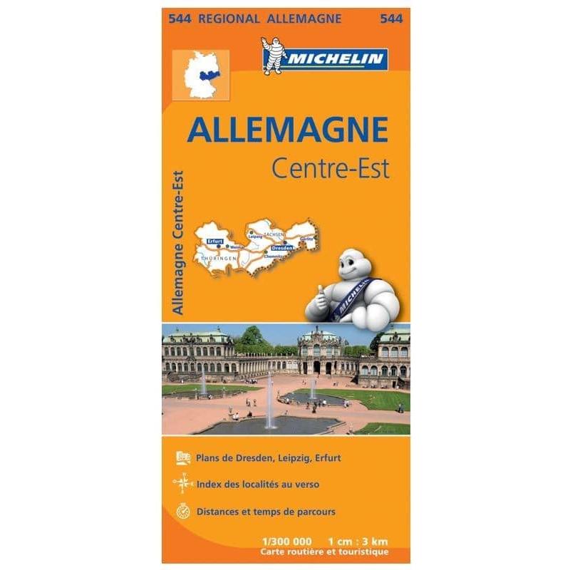 Achat Carte routière Michelin - Allemagne Centre-Est - 544