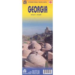 Achat Carte routière - Géorgie - ITM