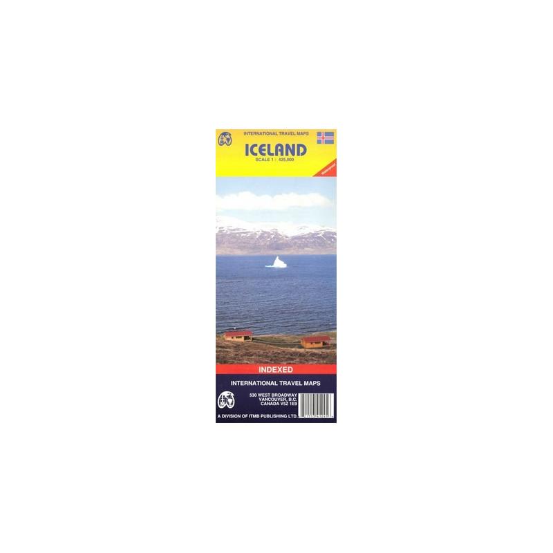 Achat Carte routière - Islande - ITM