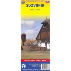 Achat Carte routière - Slovaquie - ITM