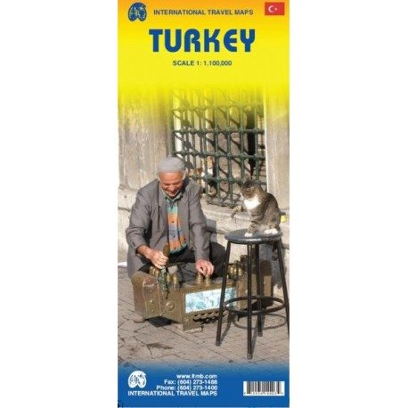 Achat Carte routière - Turquie - ITM