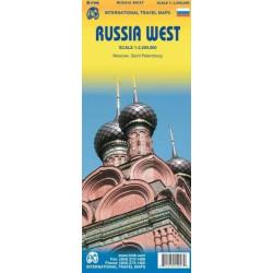 Achat Carte routière - Russie ouest - ITM