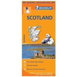 Achat Carte routière Michelin - Ecosse, Scotland - 501