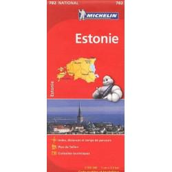 Achat Carte routière Michelin - Estonie - 782