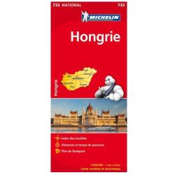 Achat Carte routière Michelin - Hongrie - 732