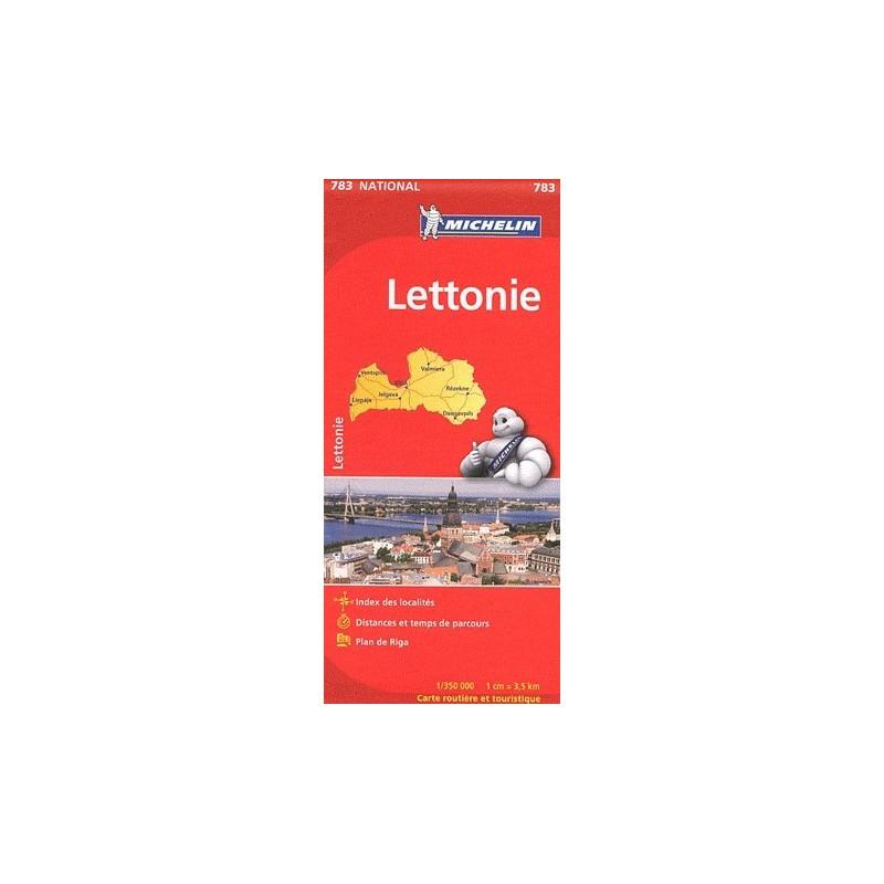 Achat Carte routière Michelin - Lettonie - 783
