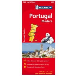Achat Carte routière Michelin - Portugal Madère - 733