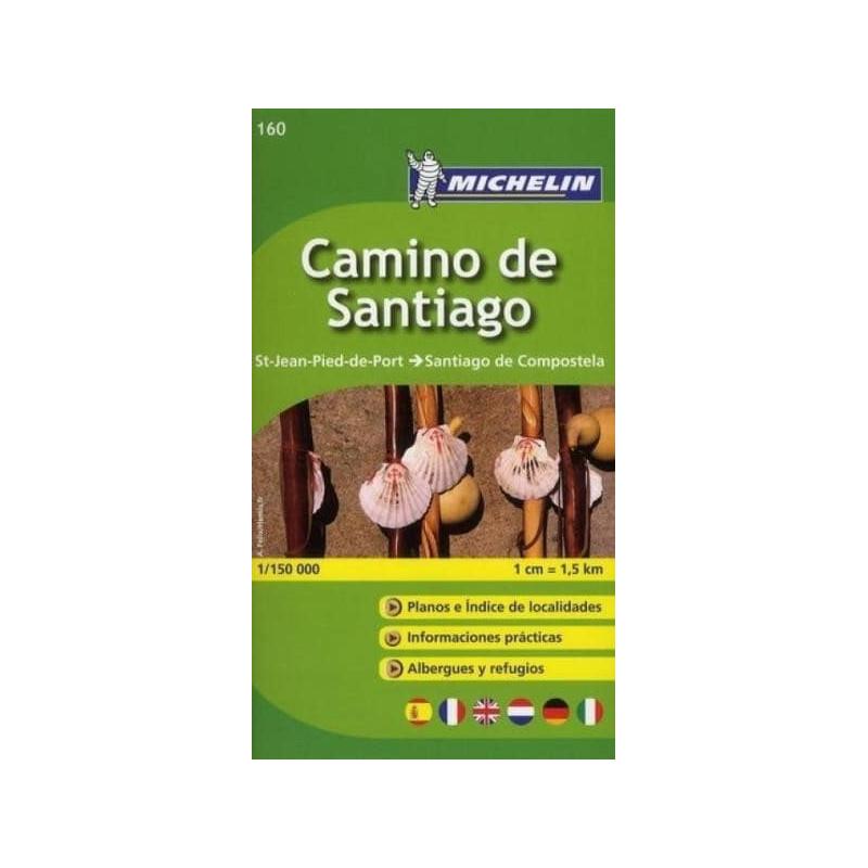 Achat Carte routière Michelin - Chemin St Jacques Compostelle (Espagne) - zoom 160