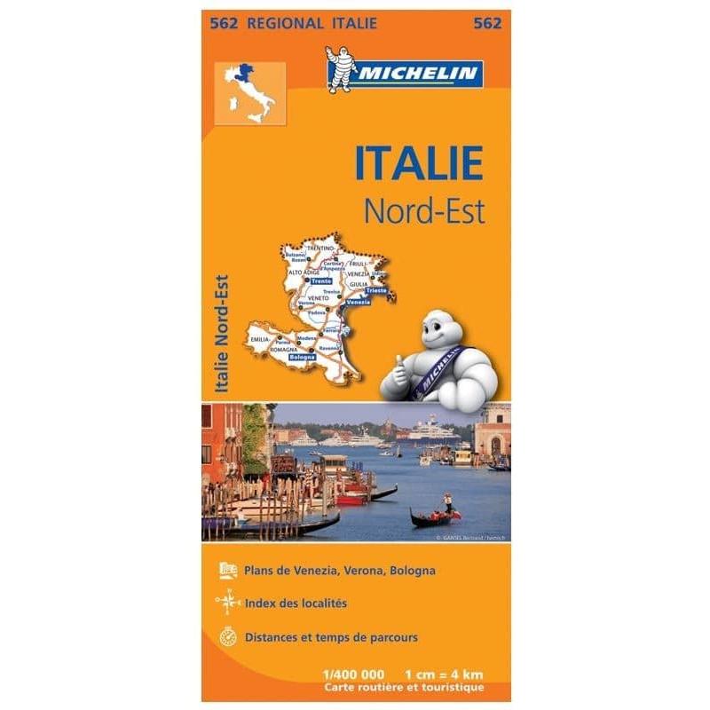Achat Carte routière Michelin - Italie Nord-Est - 562