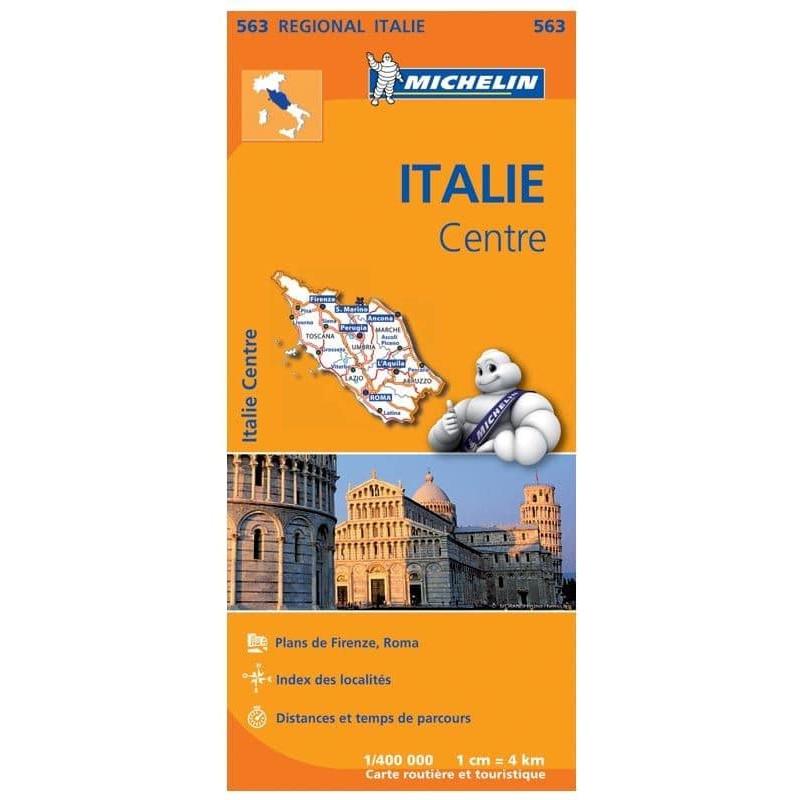 Achat Carte routière Michelin - Italie Centre - 563