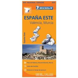 Achat Carte routière Michelin - Communidad Valenciana, Murcia - 577