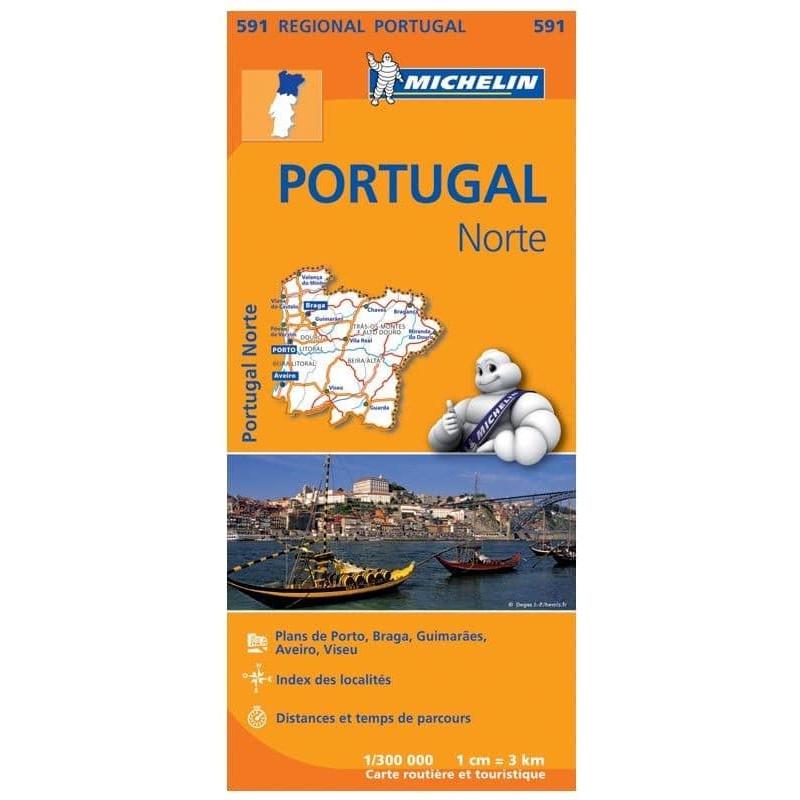 Achat Carte routière Michelin - Portugal Nord - 591