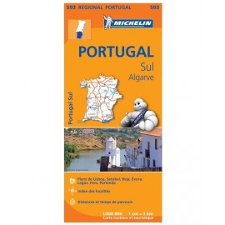 Achat Carte routière Michelin - Portugal Sud Algarve - 593