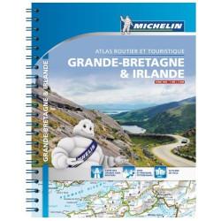 Achat Atlas Grande-Bretagne Irlande 2018 - Michelin