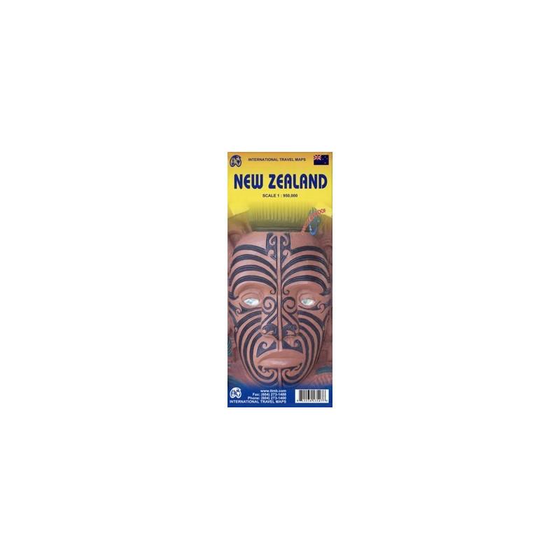 Achat Carte routière - Nouvelle-Zélande - ITM