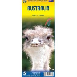 Achat Carte routière - Australie - ITM